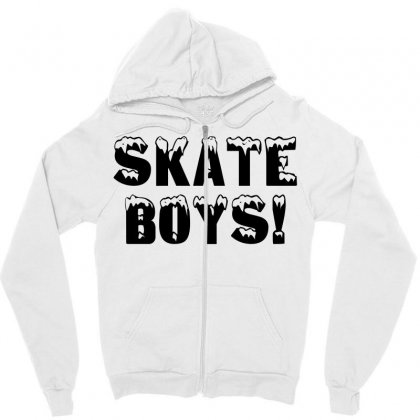 Skate Boys Zipper Hoodie Designed By Perfect Designers
