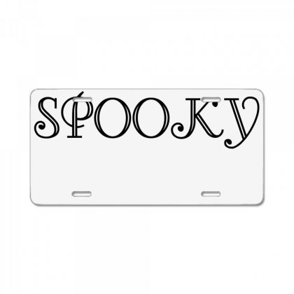Spooky License Plate Designed By Perfect Designers