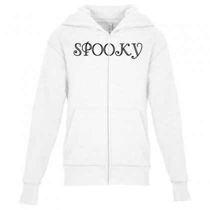 Spooky Youth Zipper Hoodie Designed By Perfect Designers