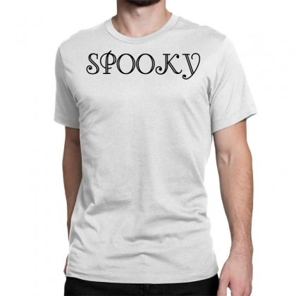 Spooky Classic T-shirt Designed By Perfect Designers