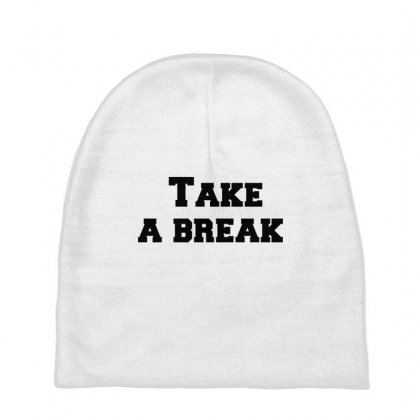 Take A Break Baby Beanies Designed By Perfect Designers