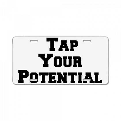 Tap Your Potential License Plate Designed By Perfect Designers