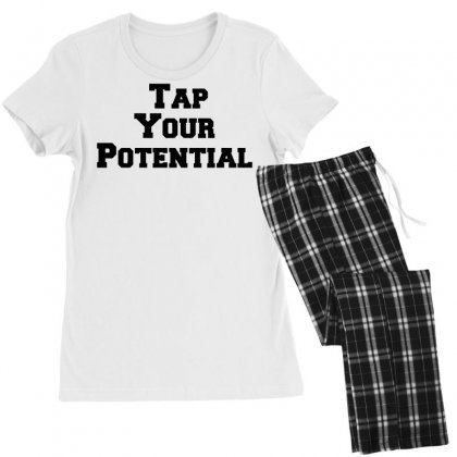 Tap Your Potential Women's Pajamas Set Designed By Perfect Designers