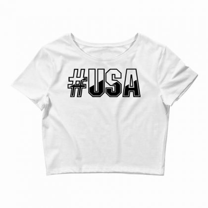 Usa Crop Top Designed By Perfect Designers