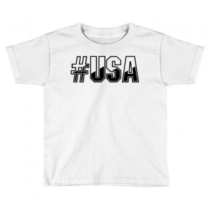 Usa Toddler T-shirt Designed By Perfect Designers