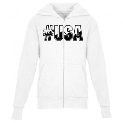 Usa Youth Zipper Hoodie Designed By Perfect Designers