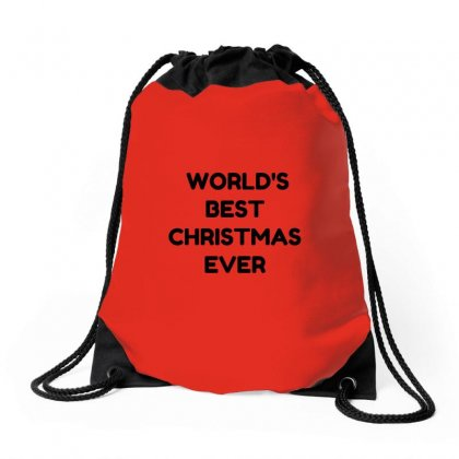 World's Best Christmas Ever Drawstring Bags Designed By Perfect Designers