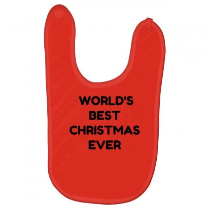 World's Best Christmas Ever Baby Bibs Designed By Perfect Designers