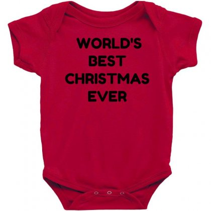 World's Best Christmas Ever Baby Bodysuit Designed By Perfect Designers