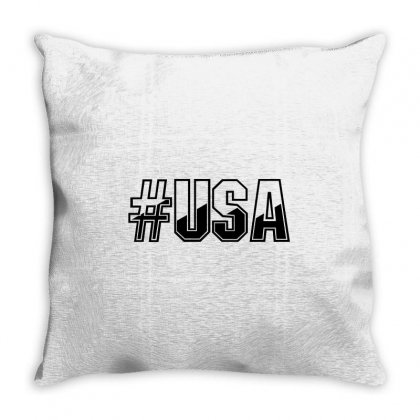 Usa Throw Pillow Designed By Perfect Designers