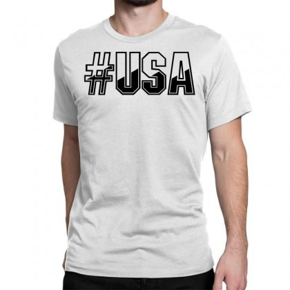 Usa Classic T-shirt Designed By Perfect Designers