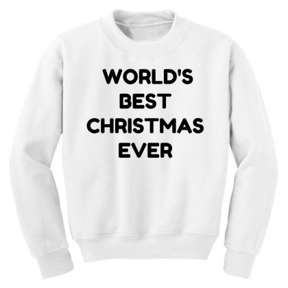 World's Best Christmas Ever Youth Sweatshirt Designed By Perfect Designers