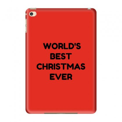 World's Best Christmas Ever Ipad Mini 4 Case Designed By Perfect Designers