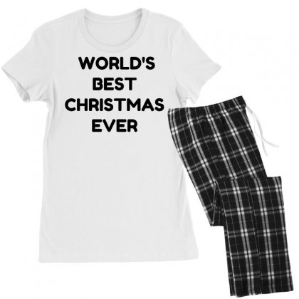 World's Best Christmas Ever Women's Pajamas Set Designed By Perfect Designers
