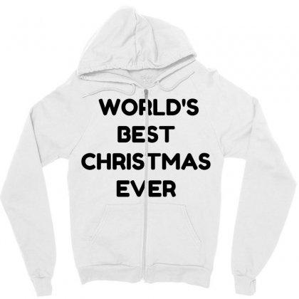 World's Best Christmas Ever Zipper Hoodie Designed By Perfect Designers