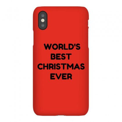 World's Best Christmas Ever Iphonex Case Designed By Perfect Designers