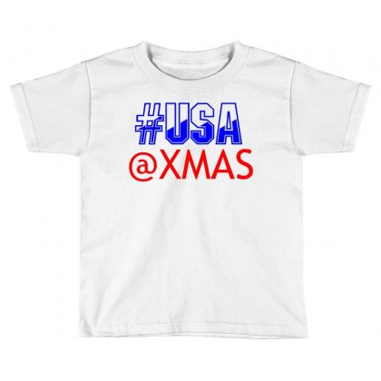 Usa At Xmass Toddler T-shirt Designed By Perfect Designers