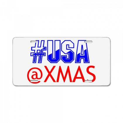 Usa At Xmass License Plate Designed By Perfect Designers