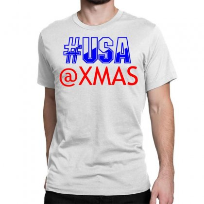 Usa At Xmass Classic T-shirt Designed By Perfect Designers