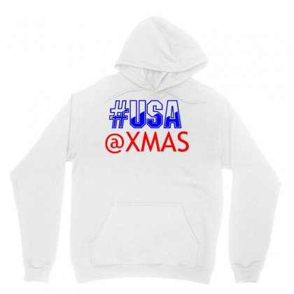 Usa At Xmass Unisex Hoodie Designed By Perfect Designers