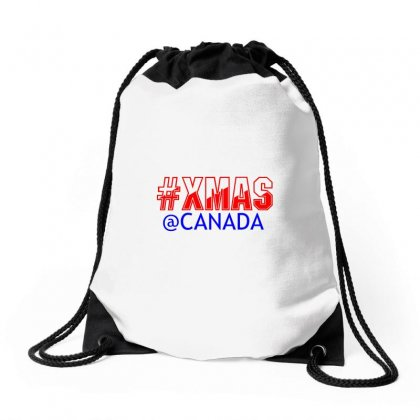 Xmas At Canada Drawstring Bags Designed By Perfect Designers