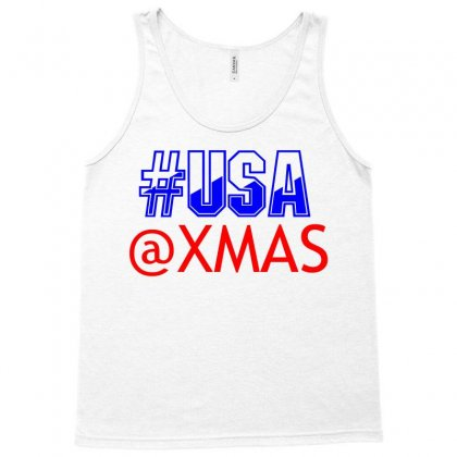 Usa At Xmass Tank Top Designed By Perfect Designers