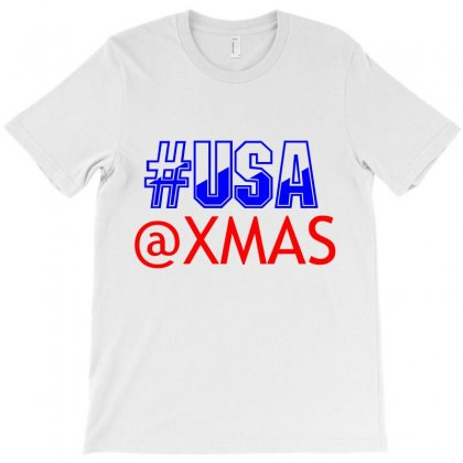 Usa At Xmass T-shirt Designed By Perfect Designers
