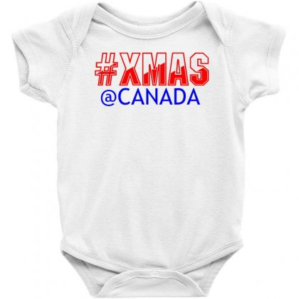 Xmas At Canada Baby Bodysuit Designed By Perfect Designers