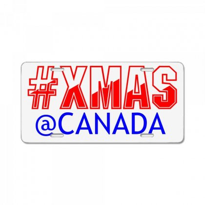 Xmas At Canada License Plate Designed By Perfect Designers