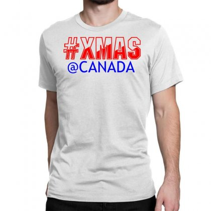 Xmas At Canada Classic T-shirt Designed By Perfect Designers