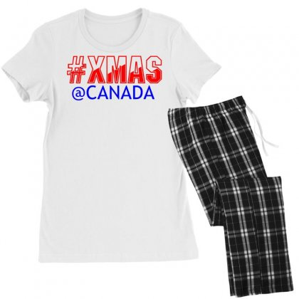 Xmas At Canada Women's Pajamas Set Designed By Perfect Designers