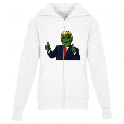 Trump Tshirt Youth Zipper Hoodie Designed By Jade