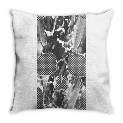 Skull Throw Pillow Designed By Mrpatch1600