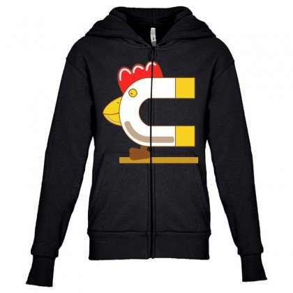How To Be A Chick Magnet Youth Zipper Hoodie Designed By Broliant