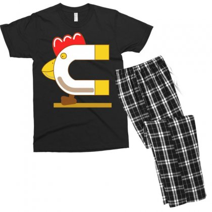 How To Be A Chick Magnet Men's T-shirt Pajama Set Designed By Broliant