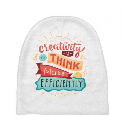 Creativity Is Think Make Efficient Baby Beanies Designed By Tudtoojung