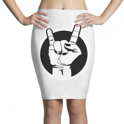 Metal Sign Pencil Skirts Designed By Karimslab