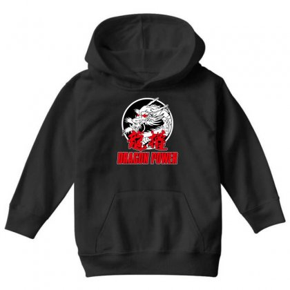 Dragon Power Youth Hoodie Designed By Broliant