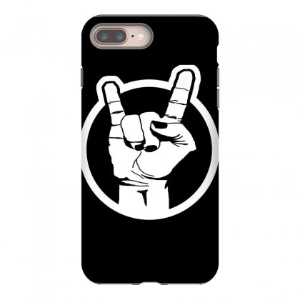 Metal Sign Iphone 8 Plus Case Designed By Karimslab