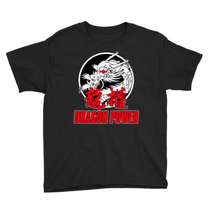 Dragon Power Youth Tee Designed By Broliant