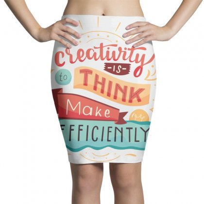 Creativity Is Think Make Efficient Pencil Skirts Designed By Tudtoojung