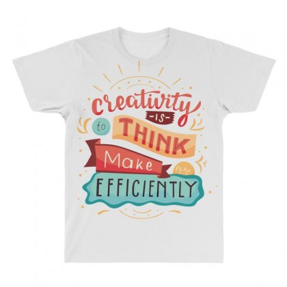 Creativity Is Think Make Efficient All Over Men's T-shirt Designed By Tudtoojung