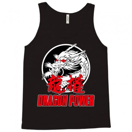 Dragon Power Tank Top Designed By Broliant