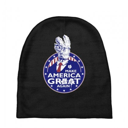 Make America Groot Baby Beanies Designed By Broliant