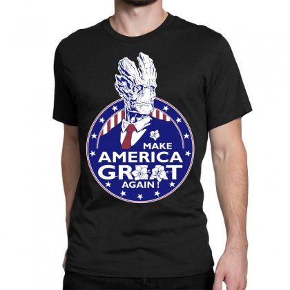 Make America Groot Classic T-shirt Designed By Broliant