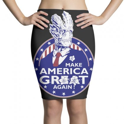 Make America Groot Pencil Skirts Designed By Broliant