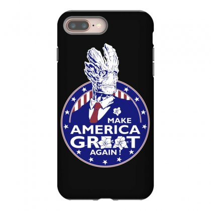 Make America Groot Iphone 8 Plus Case Designed By Broliant