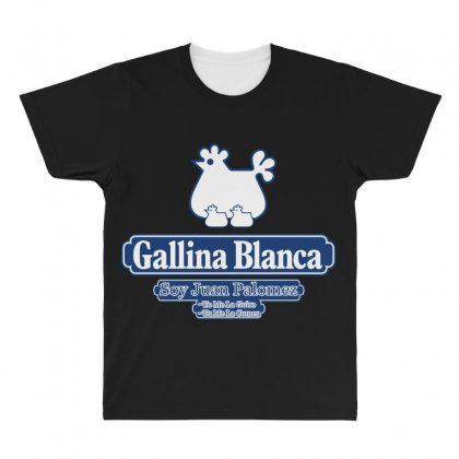 Gallina Blanca All Over Men's T-shirt Designed By Broliant