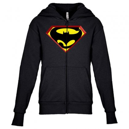 Superbat Youth Zipper Hoodie Designed By Broliant