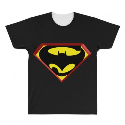 Superbat All Over Men's T-shirt Designed By Broliant